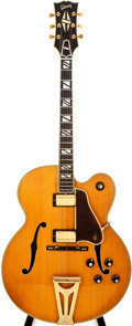 Musical Instruments:Electric Guitars, 1980 Gibson Super 400 Natural Blonde Semi-Hollow Body ElectricGuitar, #83300007....
