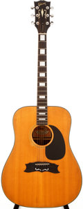 Musical Instruments:Acoustic Guitars, 1973-75 Gibson Heritage Natural Acoustic Guitar, #A800130....