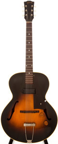 Musical Instruments:Acoustic Guitars, 1953 Gibson ES-125 Sunburst Archtop Electric Guitar, #Y477432....
