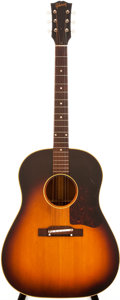 Musical Instruments:Acoustic Guitars, 1957 Gibson J-45 Sunburst Acoustic Guitar, #U26045....