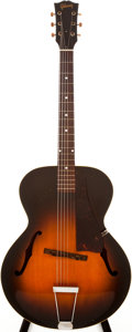 Musical Instruments:Acoustic Guitars, 1949-50 Gibson L-48 Sunburst Archtop Acoustic Guitar, #397517....