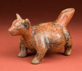American Indian Art:Pottery, Petite Colima Red Dog...