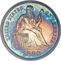 Proof Seated Dimes, 1889 10C PR67 PCGS. Fortin-102....