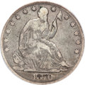 Seated Half Dollars, 1870-CC 50C VG10 PCGS....