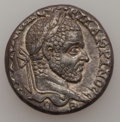 Ancients:Roman Provincial , Ancients: SYRIA. Emesa. Macrinus (AD 217-218). AR tetradrachm(14.25 gm). ...