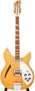Musical Instruments:Electric Guitars, 1967 Rickenbacker 365/OS Mapleglo Semi-Hollow Body Electric Guitar, #GJ4169....
