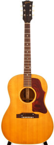 Musical Instruments:Acoustic Guitars, 1964 Gibson B-25 Natural Acoustic Guitar, #101836....