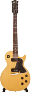 Musical Instruments:Electric Guitars, 1958 Gibson Les Paul Special TV Yellow Solid Body Electric Guitar, #83436....