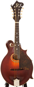Musical Instruments:Banjos, Mandolins, & Ukes, 1910-1917 The Gibson F2 Sunburst Mandolin, #45822....
