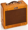 Musical Instruments:Amplifiers, PA, & Effects, 1960 Fender Champ Tweed Guitar Amplifier, #C13352....