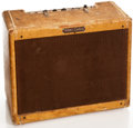 Musical Instruments:Amplifiers, PA, & Effects, 1957 Fender Deluxe Tweed Guitar Amplifier, #D01186....