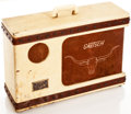 Musical Instruments:Amplifiers, PA, & Effects, 1956 Gretsch Roundup White Guitar Amplifier, #X66355....
