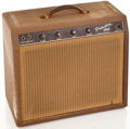 Musical Instruments:Amplifiers, PA, & Effects, 1962 Fender Princeton Brown Guitar Amplifier, #P03322....