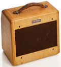 Musical Instruments:Amplifiers, PA, & Effects, 1954 Fender Champ Tweed Guitar Amplifier, #6807....