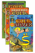 Bronze Age (1970-1979):Cartoon Character, Richie Rich Gold and Silver File Copy Group (Harvey, 1975-82)Condition: Average NM-.... (Total: 105 Comic Books)
