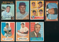 Baseball Cards:Autographs, Managers and Executives Signed Cards Lot of 7....