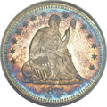 Proof Seated Quarters, 1871 25C PR65 PCGS....