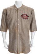 Baseball Collectibles:Uniforms, 1923-24 Eddie Pick Game Worn Cincinnati Reds Jersey....