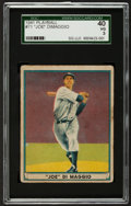 Baseball Cards:Singles (1940-1949), 1941 Play Ball Joe DiMaggio #71 SGC 40 VG 3....
