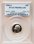 Proof Roosevelt Dimes: , 1984-S 10C PR69 Deep Cameo PCGS. PCGS Population (2498/154). NGCCensus: (401/64). Numismedia Wsl. Price for problem free...