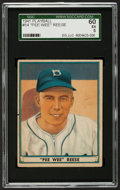 Baseball Cards:Singles (1940-1949), 1941 Play Ball Pee Wee Reese #54 SGC 60 EX 5....