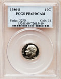 Proof Roosevelt Dimes: , 1986-S 10C PR69 Deep Cameo PCGS. PCGS Population (2719/155). NGCCensus: (263/53). Numismedia Wsl. Price for problem free ...
