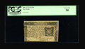 Colonial Notes:New York, New York March 5, 1776 $1/6 PCGS About New 50....