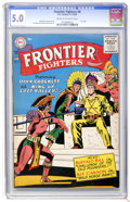 Silver Age (1956-1969):Adventure, Frontier Fighters #8 (DC, 1956) CGC VG/FN 5.0 Cream to off-white pages....