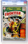 Silver Age (1956-1969):Adventure, Frontier Fighters #7 (DC, 1956) CGC VG/FN 5.0 Cream to off-white pages....