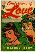 "Golden Age (1938-1955):Romance, Confessions of Love #6 Davis Crippen (""D"" Copy) pedigree (StarPublications, 1953) Condition: FN-...."