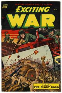 "Exciting War #8 Davis Crippen (""D"" Copy) pedigree (Standard, 1953) Condition: VF/NM"