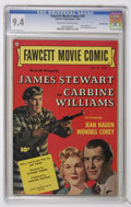 Golden Age (1938-1955):Miscellaneous, Fawcett Movie Comic #19 Carbine Williams - Crowley Copy pedigree (Fawcett, 1952) CGC NM 9.4 Off-white to white pages....