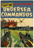 "Golden Age (1938-1955):War, Fighting Undersea Commandos #2 Davis Crippen (""D"" Copy) pedigree(Avon, 1952) Condition: VF+...."