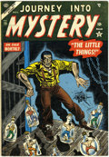Golden Age (1938-1955):Horror, Journey Into Mystery #19 (Marvel, 1954) Condition: FN....