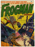 "Golden Age (1938-1955):War, Frogman Comics #3 Davis Crippen (""D"" Copy) pedigree (HillmanPublications, 1952) Condition: FN/VF...."