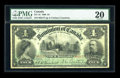 Canadian Currency: , DC-16 1900 $4. ...