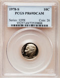 Proof Roosevelt Dimes: , 1978-S 10C PR69 Deep Cameo PCGS. PCGS Population (4767/275). NGCCensus: (318/41). Numismedia Wsl. Price for problem free...