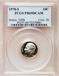 Proof Roosevelt Dimes: , 1978-S 10C PR69 Deep Cameo PCGS. PCGS Population (4767/277). NGCCensus: (318/41). Numismedia Wsl. Price for problem free ...