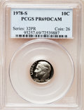 Proof Roosevelt Dimes: , 1978-S 10C PR69 Deep Cameo PCGS. PCGS Population (4767/277). NGCCensus: (319/41). Numismedia Wsl. Price for problem free ...