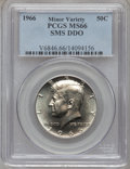 SMS Kennedy Half Dollars, 1966 50C SMS Double Die Obverse MS66 PCGS. PCGS Population(810/905). NGC Census: (91/87). Mintage: 2,200,000. Numismedia W...