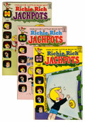 Bronze Age (1970-1979):Humor, Richie Rich Jackpots #1-58 File Copy Group (Harvey, 1972-82)Condition: Average NM-.... (Total: 130 Comic Books)