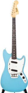Musical Instruments:Electric Guitars, 1965 Fender Duo-Sonic II Daphne Blue Solid Body Electric Guitar, #L51286....
