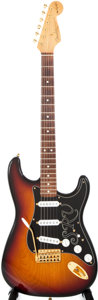 Musical Instruments:Electric Guitars, 1989 Fender Stratocaster SRV Sunburst Solid Body Electric Guitar,#SE917461....
