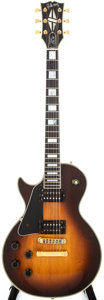 Musical Instruments:Electric Guitars, 1982 Gibson Les Paul Lefty Sunburst Solid Body Electric Guitar,#81762507....