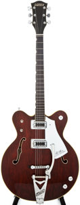 Musical Instruments:Electric Guitars, 1970s Gretsch 7670 Country Gentleman Walnut Semi-Hollow BodyElectric Guitar, #1-17213....