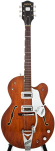 Musical Instruments:Electric Guitars, 1967 Gretsch Chet Atkins Tennessean Walnut Semi-Hollow BodyElectric Guitar, #671058....