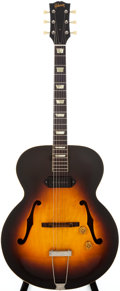 Musical Instruments:Electric Guitars, 1952 Gibson ES-150 Sunburst Archtop Electric Guitar, #X9829 31....