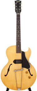 Musical Instruments:Electric Guitars, 1958 Gibson ES-225 Blonde Semi-Hollow Body Electric Guitar, #T550135....