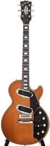 Musical Instruments:Electric Guitars, 1972 Gibson Les Paul Recording Walnut Solid Body Electric Guitar,#779106....