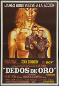 "Movie Posters:James Bond, Goldfinger (United Artists, 1964). Argentinean Poster (29"" X 43"").James Bond.. ..."